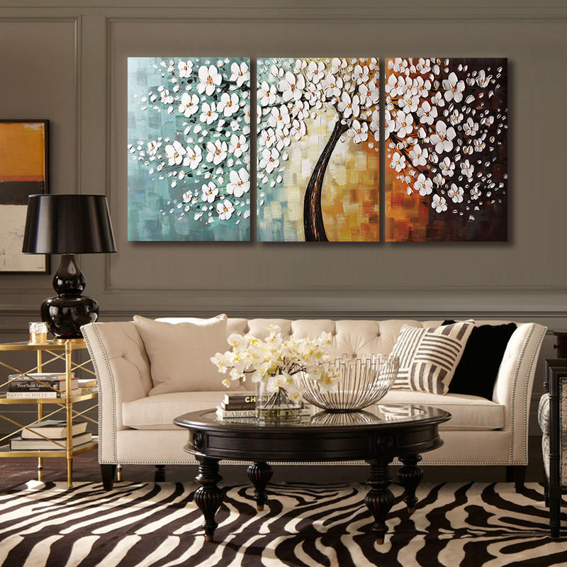 Oil Paintings Art For Hotel Decoration