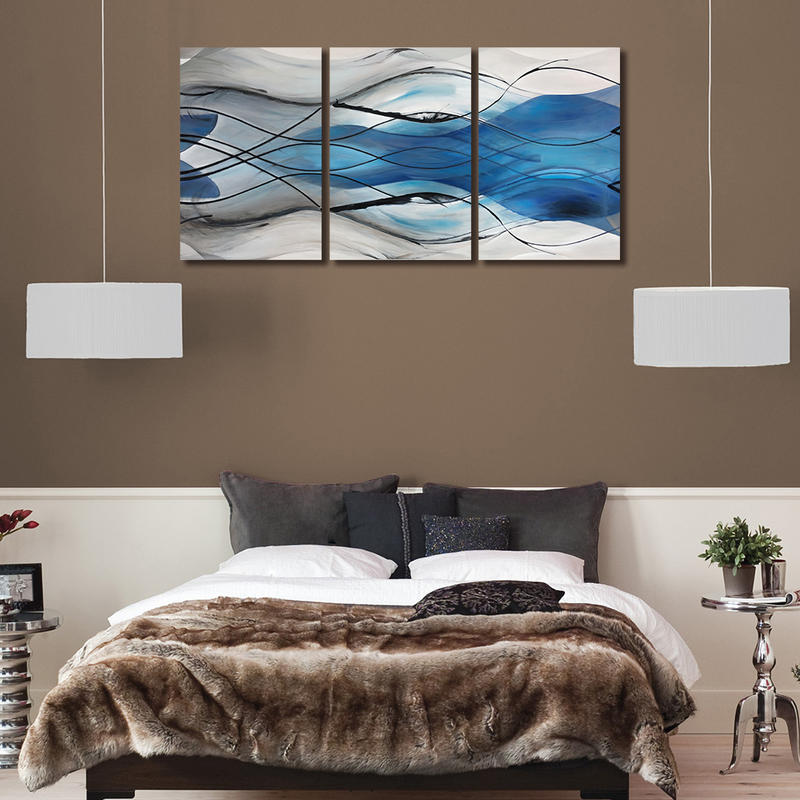 Wall Decor Canvas Modern Group Oil Painting