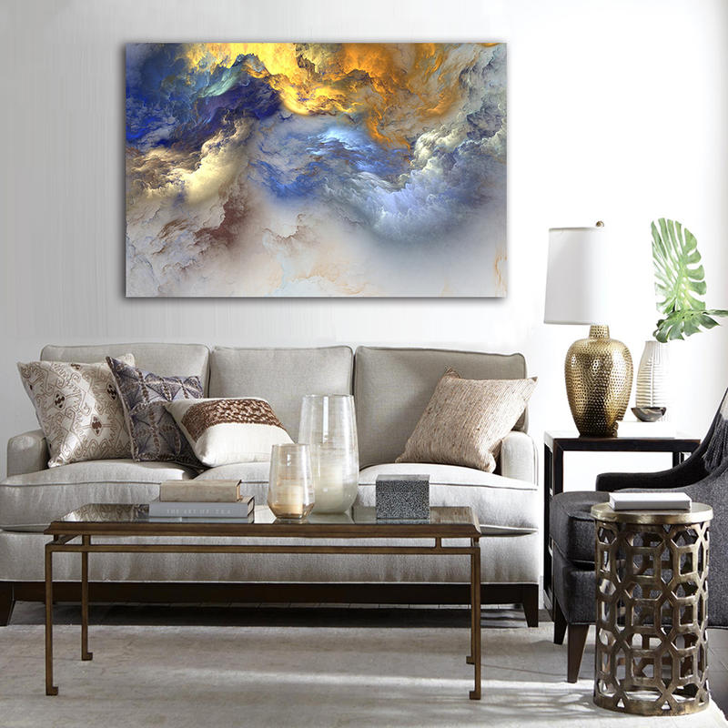 Beatiful Abstract Canvas Wall Art for Home Decor