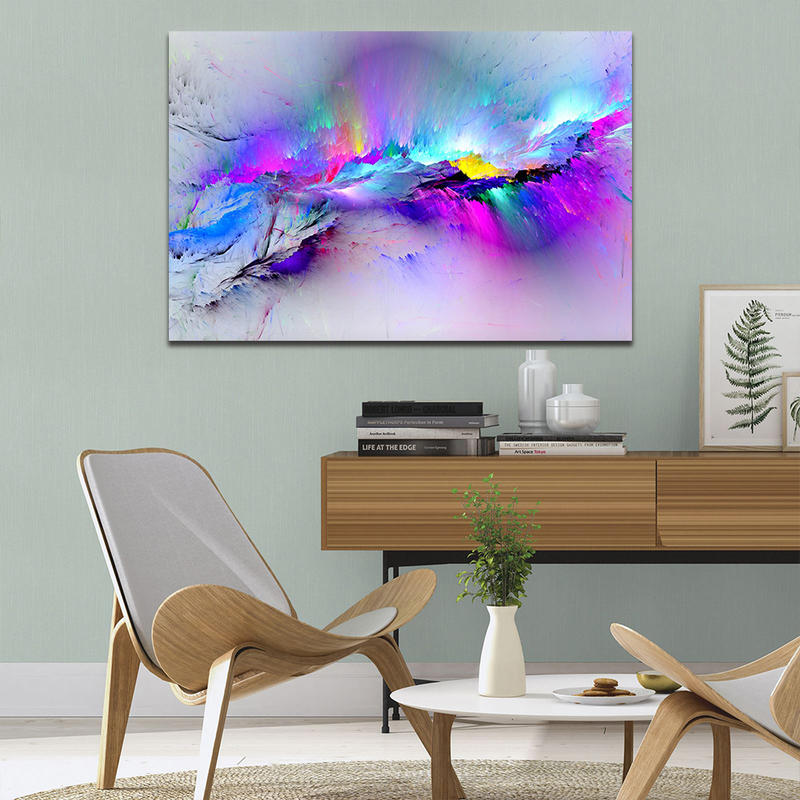 Colorful Abstract Wall Art HD Print Paintings for Living Room Decor