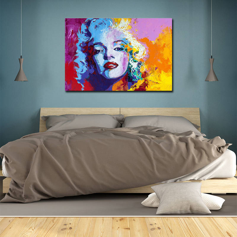 Marilyn Monroe Canvas Prints Poster Home Decor Wall Art