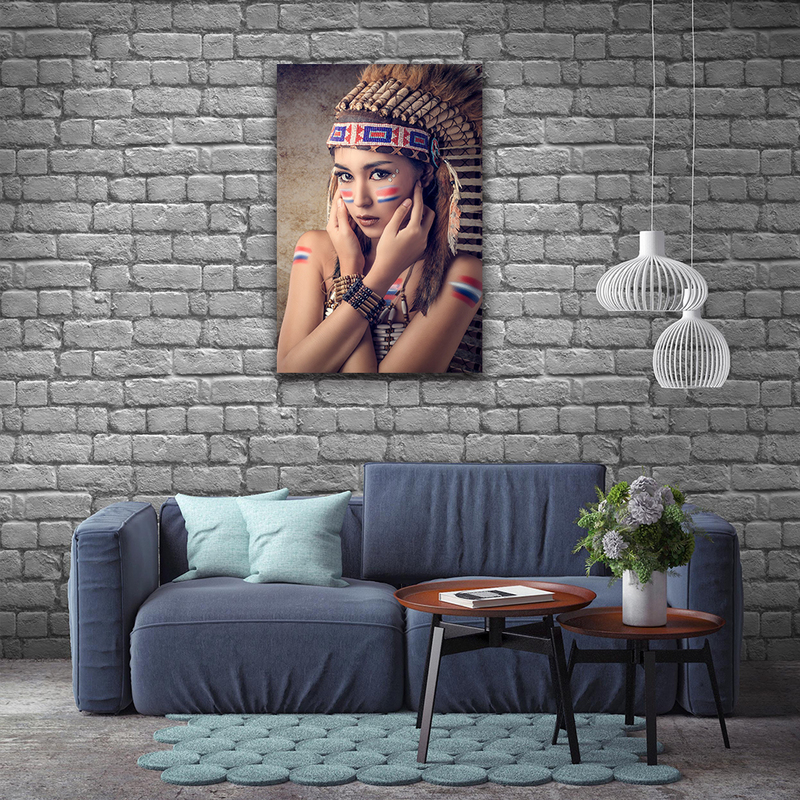 Native American Canvas Prints Wall Decor