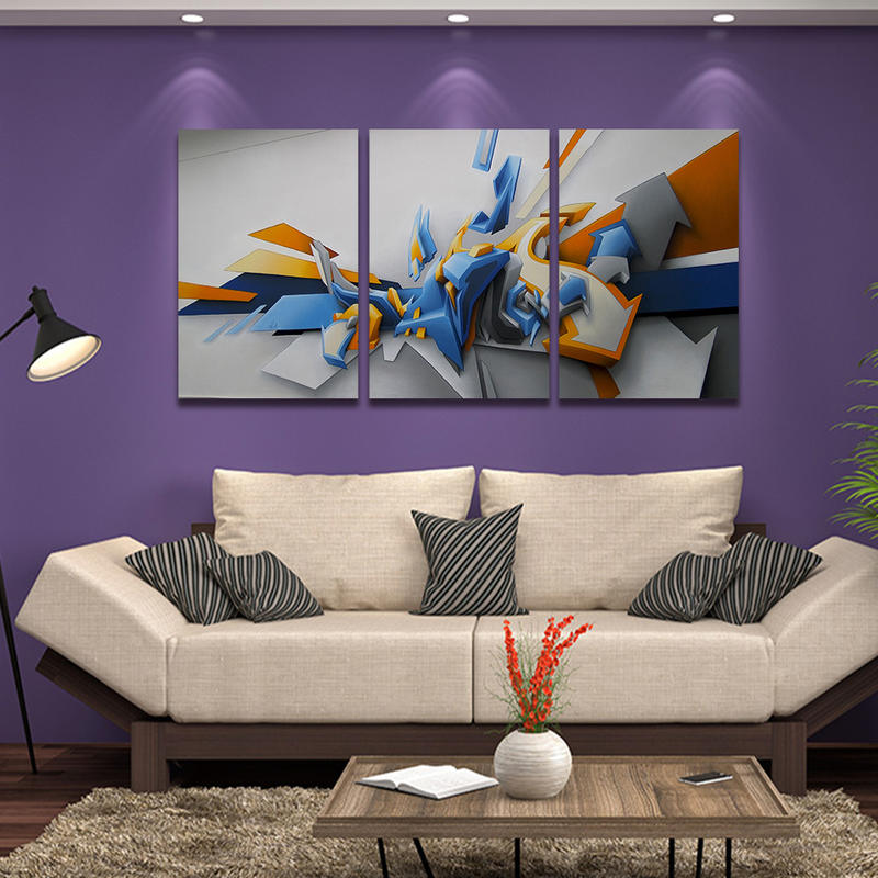 Abstract Canvas Prints Wall Decor