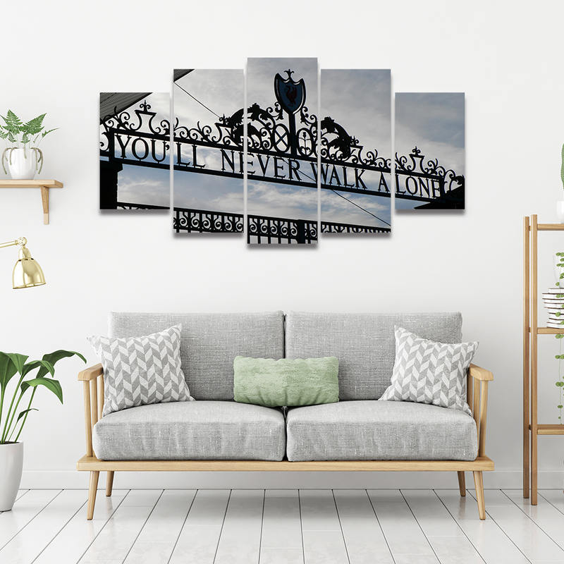 HD Canvas Printed Posters Home Decor You Will Never Walk Alone