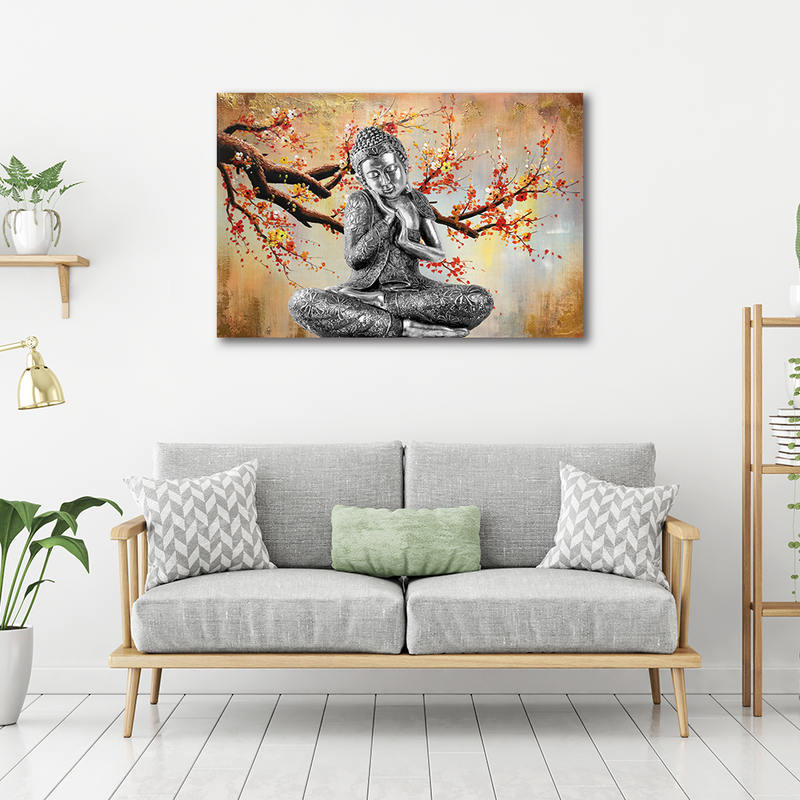 Religion Wall Art Painting Buddha Canvas Art Print Poster